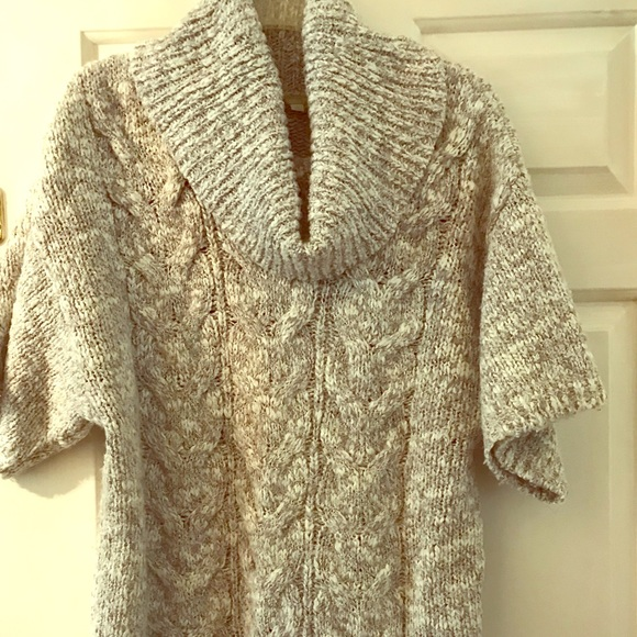 Sweaters - Gianni Beni light grey cow neck sweater